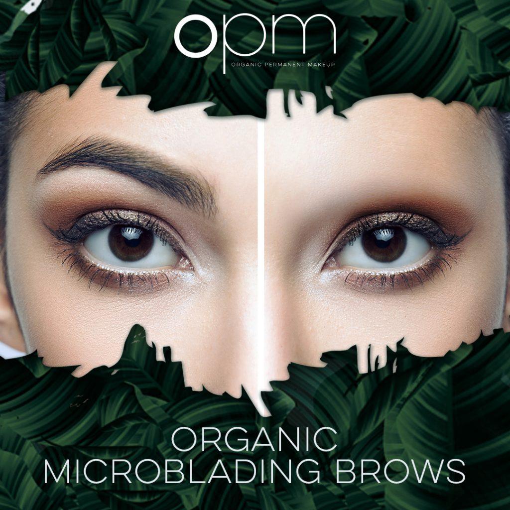 organic microblading brows