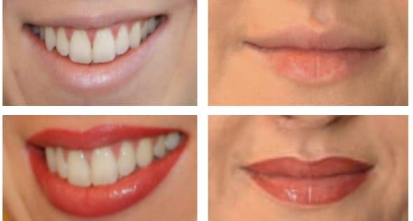 Lips Liner Tattoos