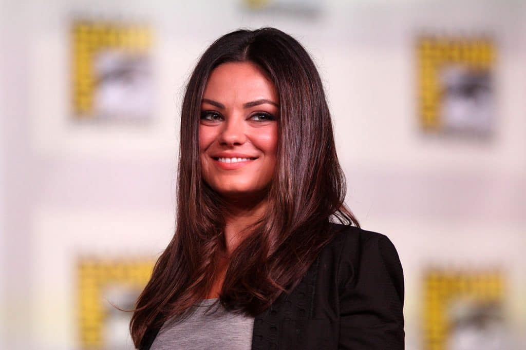 Mila Kunis Microbladed Brows
