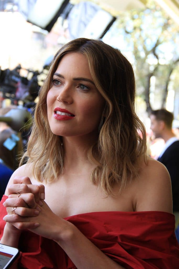 Mandy Moore Microbladed Brows