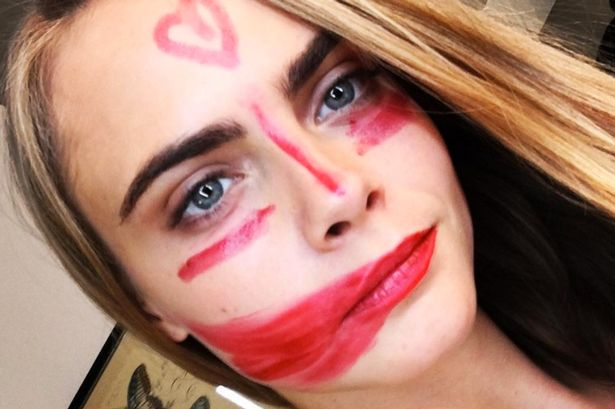 cara delevingne's best eyebrow moments