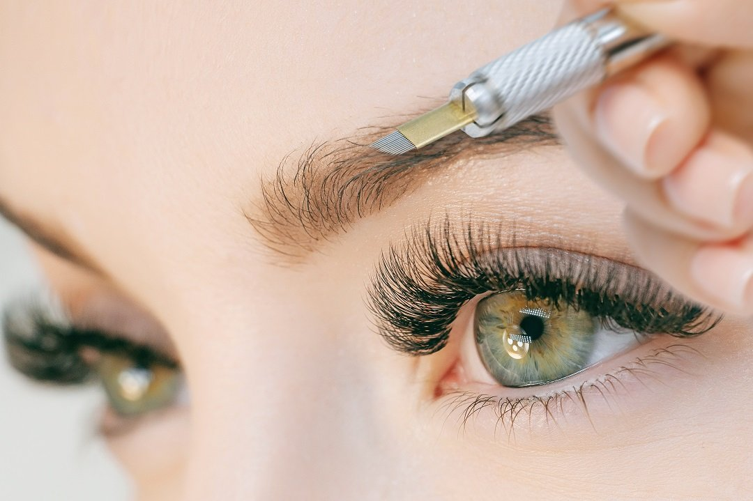 how long does microblading heal
