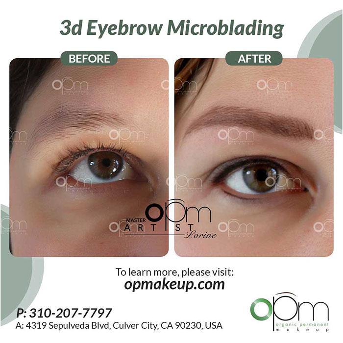 3D Eyebrow Microblading